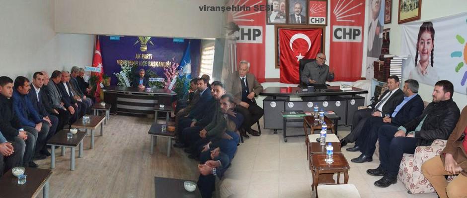 Kaymakam Çimşit Ak Parti ve CHP İlçe Teşkilatlarını Ziyaret Etti