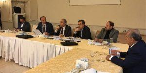 Bakan Fakıbaba ve yetkililer Urfa için toplandı