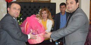 8 Mart Kadınlar Günü Dolaysıyla Milli Birlik Ve Kardeşlik Başkanına Ziyaret
