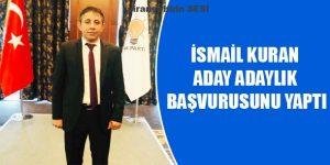 İsmail Kuran AK Parti Şanlıurfa Milletvekili Aday Adayı Başvurusunu Yaptı