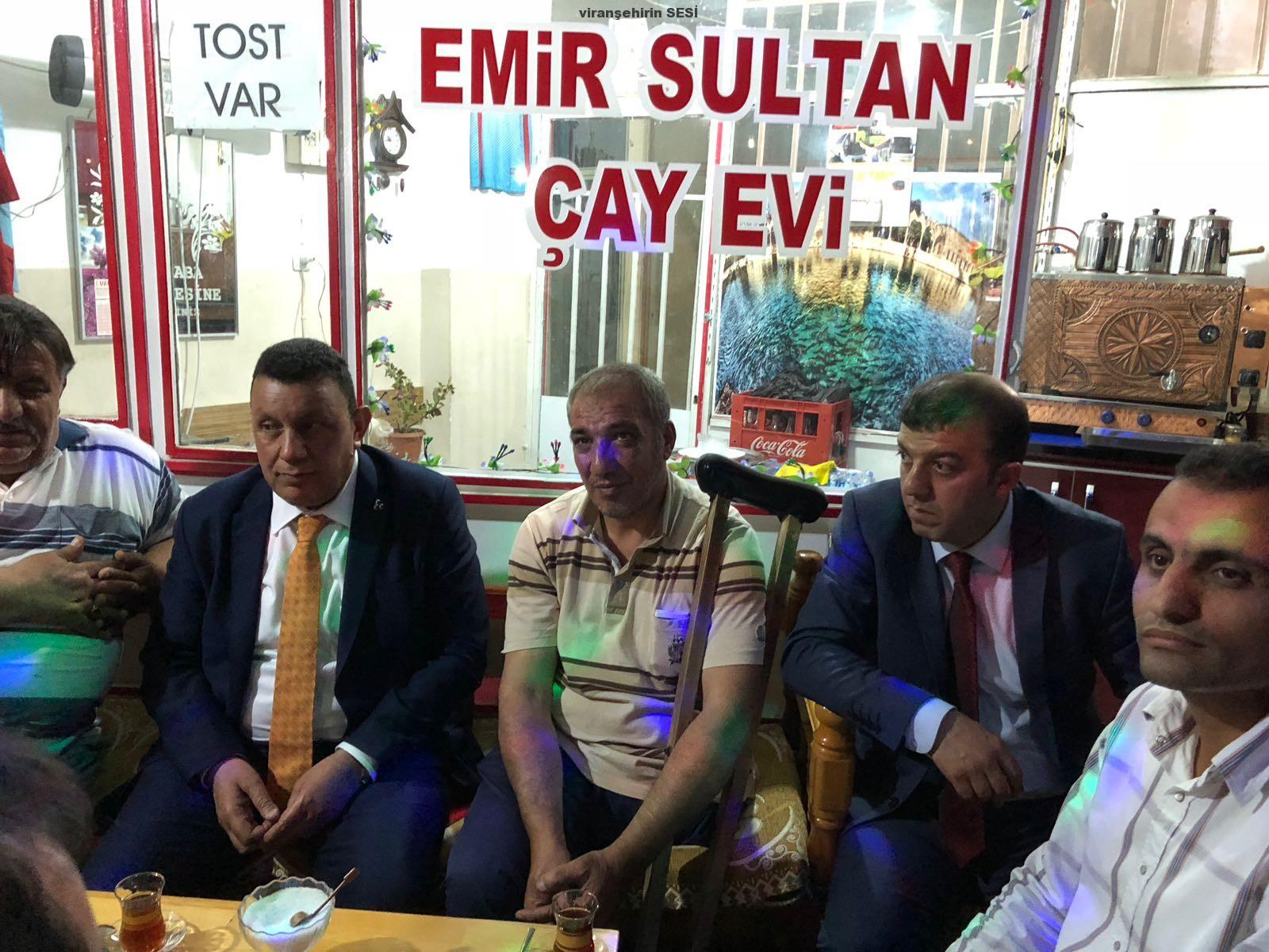 MHP adayları Şanlıurfa'da sahaya indi