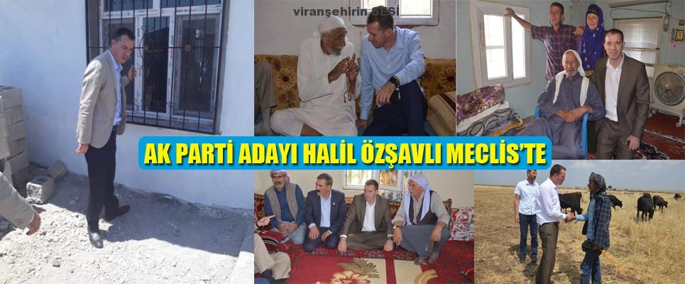 AK PARTİ ADAYI HALİL ÖZŞAVLI MECLİS'TE