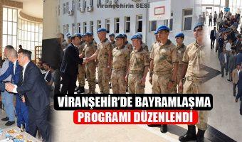 Viranşehir'de Bayramlaşma Programı Düzenlendi