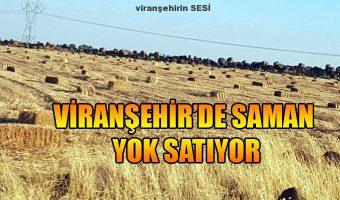 Viranşehir'de Saman Yok Satıyor