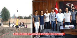 Viranşehirdeki Gençler Plaj Voleybolu Turnuvasına Damgasını Vurdular