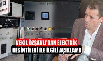 Özşavlı'dan Elektrik Kesintisi Hakkında Açıklama