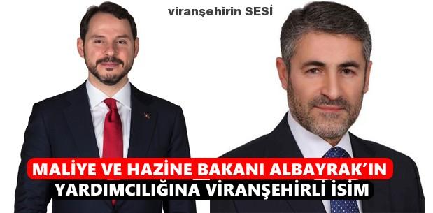 Maliye ve Hazine Bakanı Albayrak'ın Yardımcılığına Viranşehirli İsim