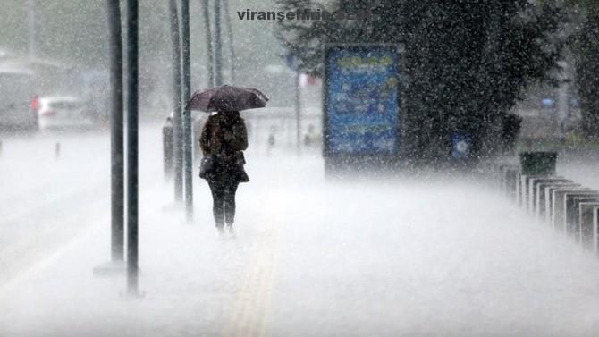 Şanlıurfa Valiliğinden Şiddetli Yağış Uyarısı