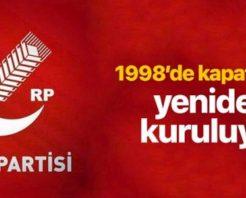 Fatih Erbakan, Yeni Kuracağı Partinin Adını Duyurdu: Refah Partisi