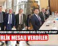 Ak Parti Belediye Başkan Aday Adaylarından Vekil Özşavlı'ya Ziyaret