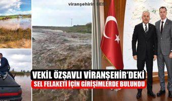 Vekil Özşavlı, DSİ Genel Müdürü Mevlüt Aydın ile görüştü, Çalışmalar Yarın başlıyor