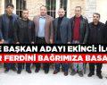 Belediye Başkan Adayı Salih Ekinci Viranşehir'in yerel ve ulusal basını ile bir araya geldi