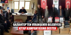 Gaziantep'ten Viranşehir Belediyesi Kitap Kampanyasına Destek