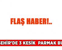 VİRANŞEHİR'DE 3 KESİK PARMAK BULUNDU(Güncellendi!)