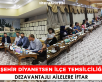 Diyanet-sen Viranşehir İlçe Temsilciliğinde Dezavantajlı Ailelere İftar