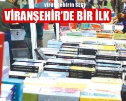 Viranşehir İlk Kez Kitap Fuarı İle Tanışacak