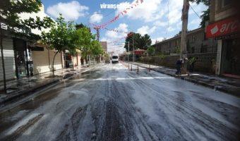 Viranşehir Belediyesinden Bayram Temizliği